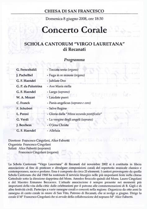 ScholaCantorumVirgoLauretana08062008
