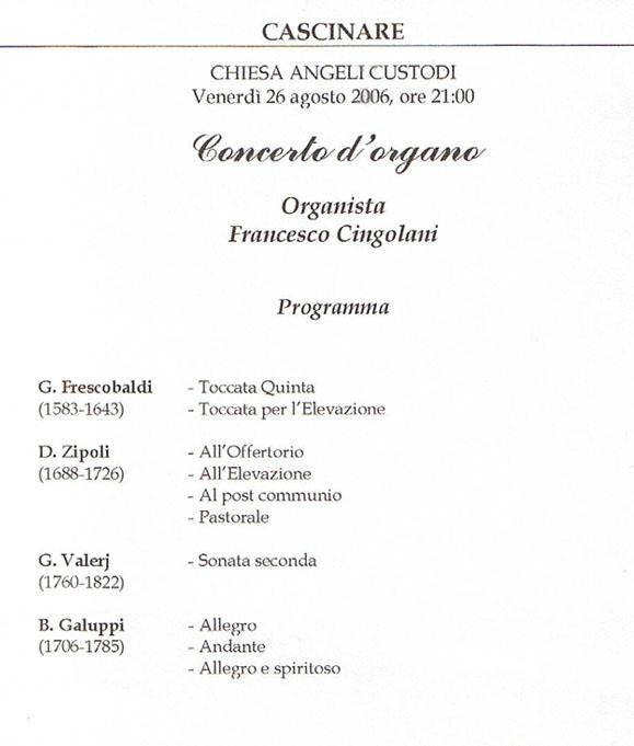 FrancescoCingolaniConcertoCascinare